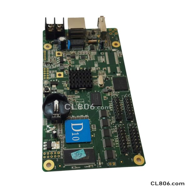 کارت کنترلر d10 - کارت کنترلر تلویزیون شهری و تابلو روان